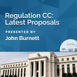 Regulation CC: Latest Proposals