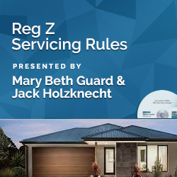 Reg Z Servicing Rules