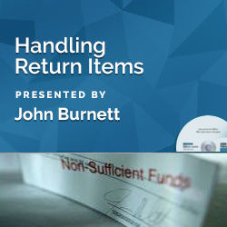 Handling Return Items