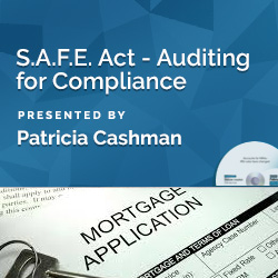 S.A.F.E. Act - Auditing for Compliance