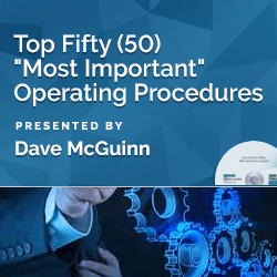 "Top Fifty (50) ""Most Important"" Operating Procedures"