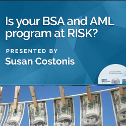 Is your BSA and AML program at RISK?