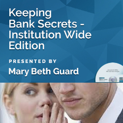 Keeping Bank Secrets - Institution Wide Edition