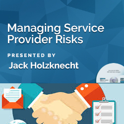 Managing Service Provider Risks - Click Image to Close