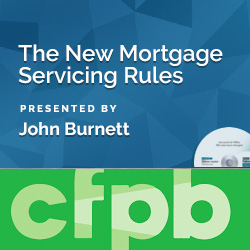 The New Mortgage Servicing Rules