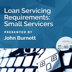 Loan Servicing Requirements: Small Servicers