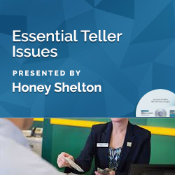 Essential Teller Issues