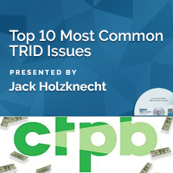 Top 10 Most Common TRID Issues