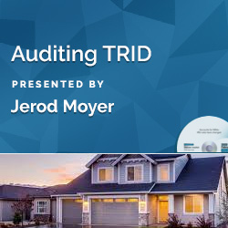 Auditing TRID