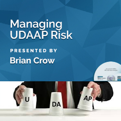 Managing UDAAP Risk