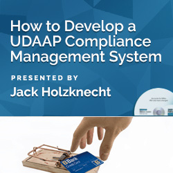 How to Develop a UDAAP Compliance Management System