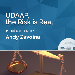 UDAAP, the Risk is Real